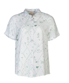 Stapelgoed blouse - groen
