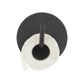House Doctor toiletrolhouder - zwart