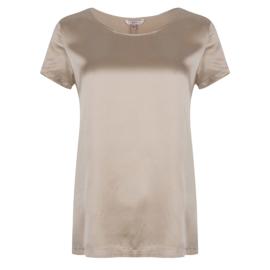 Esqualo t-shirt zijde - zand