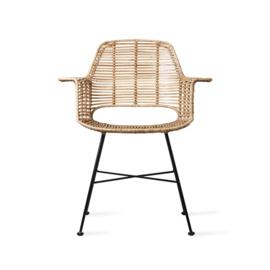 HKliving stoel rotan - naturel