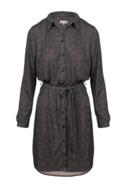 Zusss blouse jurk print - poederroze