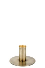 MrsBloom kaarsenstandaard s - antiek goud