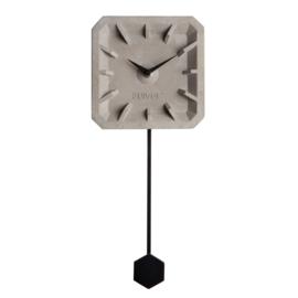 Zuiver klokje beton - zwart