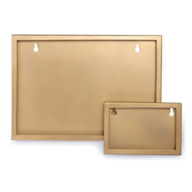 KidsDepot metalen fotolijst A4 - goud