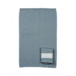 Mijn Stijl handdoek - grijs/blauw