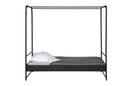 vtwonen bed metaal 120x200 cm  - zwart