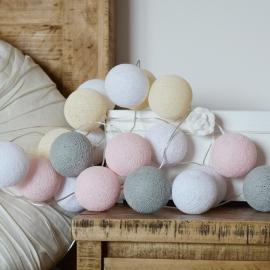 Cotton ball lights - soft