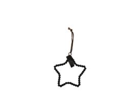 MrsBloom hanger ster s - zwart