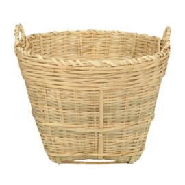 vtwonen mand bamboe xl - naturel