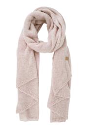 Zusss warme sjaal - poederroze