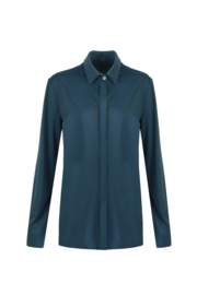 G-maxx travel blouse - petrol