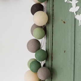 Cotton ball lights premium - urban green