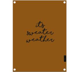 Label-R tuinposter sweater - bruin