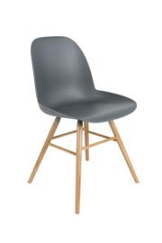 Zuiver stoel - donkergrijs