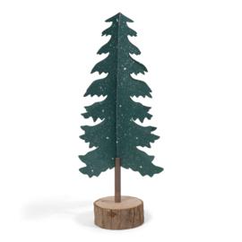 Kerstboom papier - groen