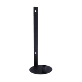 Storefactory muurkaarsenhouder - zwart