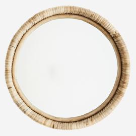 Madam Stoltz spiegel rond bamboe