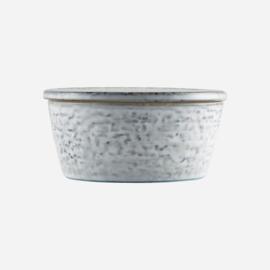 House doctor pot met deksel rustic s - grijs/groen