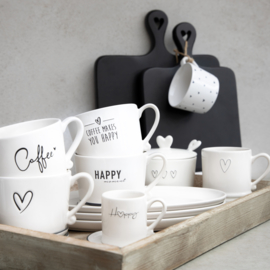 Bastion Collections mok l coffee nw - zwart