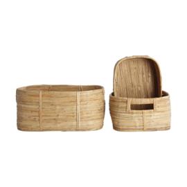 House Doctor mand bamboe rechthoekig