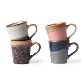 HKliving mok espresso set/4
