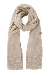 Zusss warme brei sjaal - zand