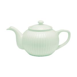 Greengate teapot  - alice pale green
