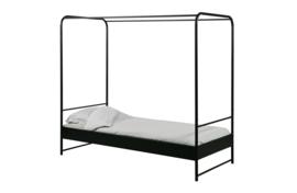 vtwonen bed metaal 90x200 cm  - zwart