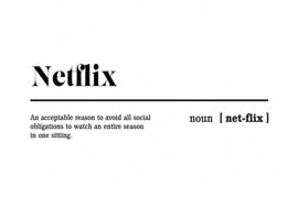 Poster indoor netflix