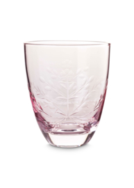 vtwonen drinkglas - roze
