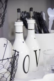 Bastion Collections fles azijn - zwart