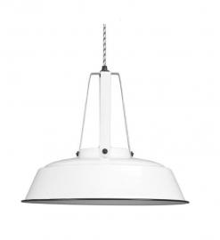 Hanglamp Industrieel L, wit