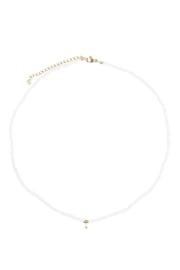 Zusss ketting - wit/goud