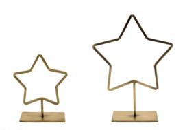 MrsBloom ster staand m - goud