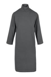 Zusss jurk met col - antracietgrijs