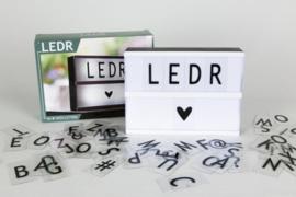 LEDR Lightbox A5
