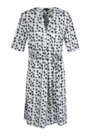 G-maxx travel jurk - zwart/wit