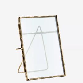 Madam Stoltz fotolijst 10x15 - antiek brass
