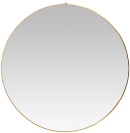 Ib Laursen ronde spiegel xxl - brons