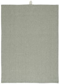 Ib Laursen theedoek - beige/groen