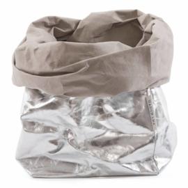 Uashmama paper bag - zilver