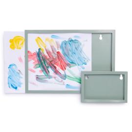 KidsDepot metalen fotolijst A4 - seagreen