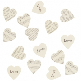 Confetti, heart