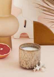 HKliving geurkaars keramiek casa fruits