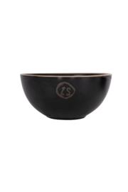 Zusss schaal aardewerk - zwart