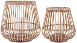 Ib Laursen windlicht bamboe l