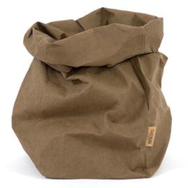 Uashmama paper bag - olijf