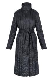 Zusss winterjas gewatteerd - zwart