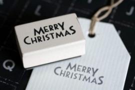Stempel, Merry Christmas
