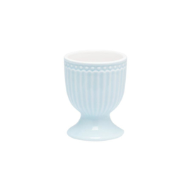 Greengate egg cup - alice pale blue
